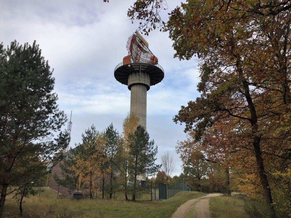 Radaranlage auf dem Schmooksberg