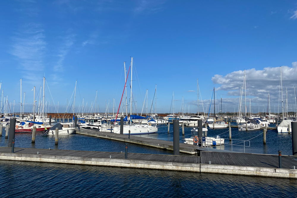 Yachthafen Hohe Düne, Rostock, Mecklenburg-Vorpommern