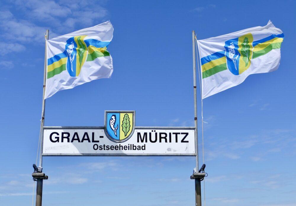 Flaggen in Graal-Müritz
